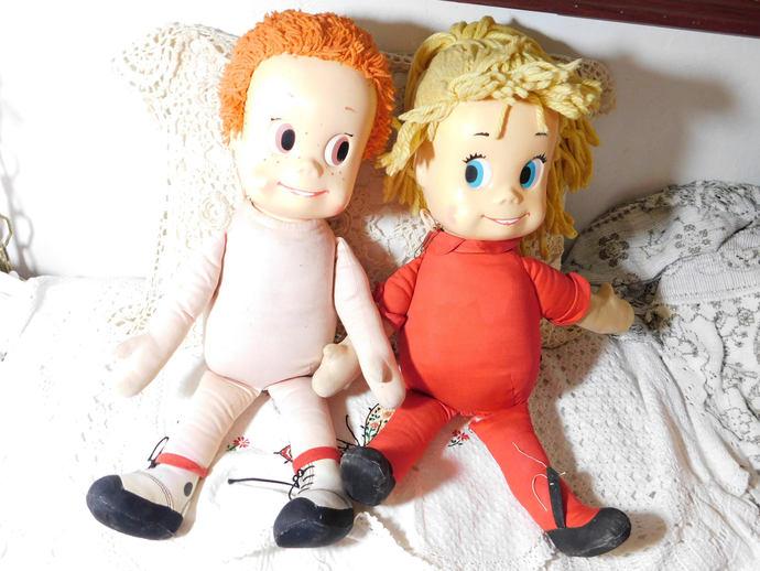 Mattie, Sister Belle Set Mattel Dolls, Vintage Dolls, Vintage Talking Dolls,