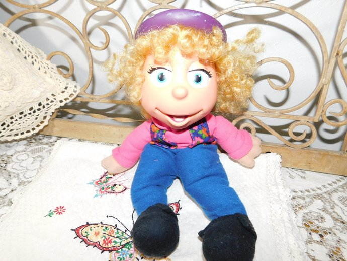 Puzzle Place Jody, Puzzle Place, 1994 Plush Doll Fisher Price, Vintage Fisher