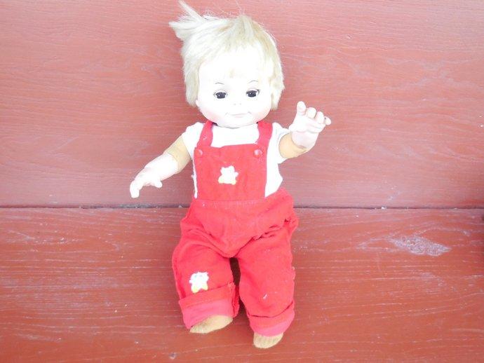 Eegee Camilla Doll Foam Body Posi Playmate 1970 ,Character Girl, Foam Doll,