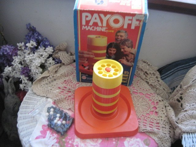 Ideal PAYOFF Machine Game  Marble Maze 1978, Vintage Marble Game, Marble,
