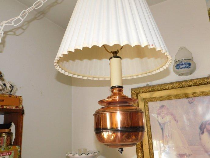 Vintage Swag Light, Vintage Brass Hanging Light, Brass Hanging Swag Lamp,