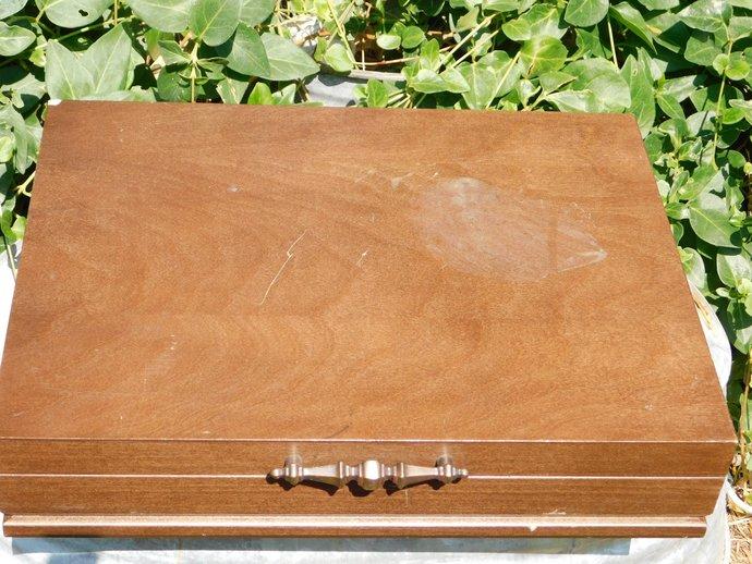Silver Ware or Flat Ware Wooden Box, Silverware Box, Dinning Room Decor, Kitchen