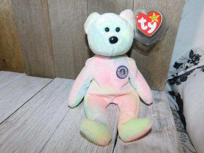 Ty BB Bear, Ty Birthday Bear, Ty Bear, Ty Stuffed Bear, Ty Stuffed Toys, Vintage