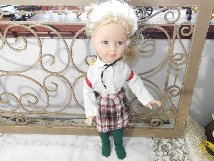 Tomy Kimberly School Girl Doll, Vintage Kimberly Doll, Vintage Doll, School Girl