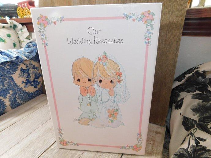 Wedding Book, Wedding, Our Wedding Keepsake Box Precious Moments 1995,Wedding