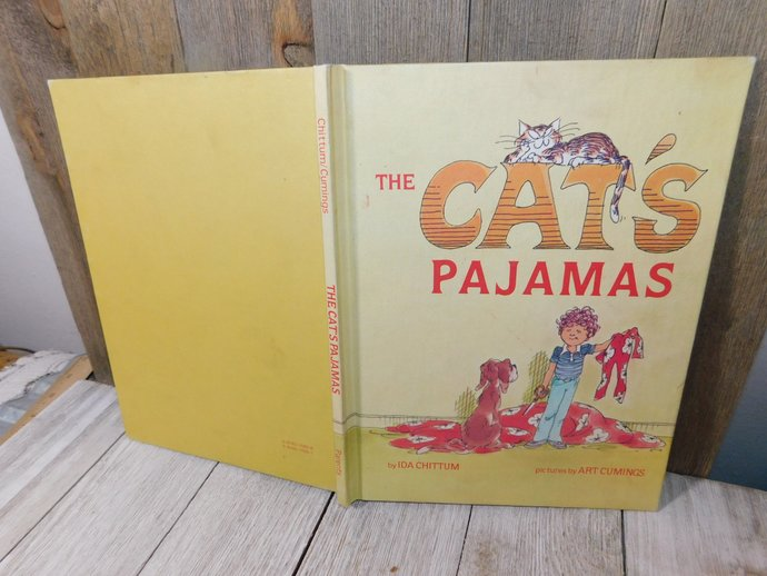 The Cats Pajamas By Ida Chittum 1980, Easy Reader Book, Vintage Childrens