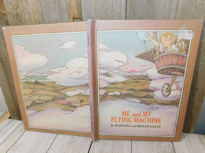Me and My Flying Machine By Marianna and Mercer Mayer 1971, Vintage Childrens