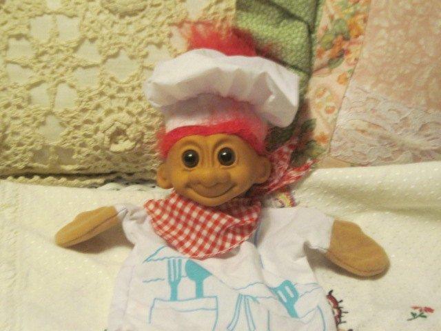 Puppet, Russ Troll Bakers Puppet  Darling, Baker Puppet, Troll Puppet, Puppet