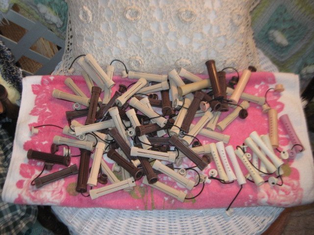 Hair Rods, Hair Curlers, Perm rods, Hair Dresser Rods, Vintage Hair Permanent