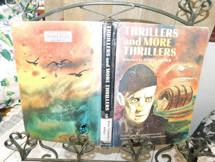 Thrillers and More Thrillers Selected By Robert Arthur 1968 , Vintage Thriller