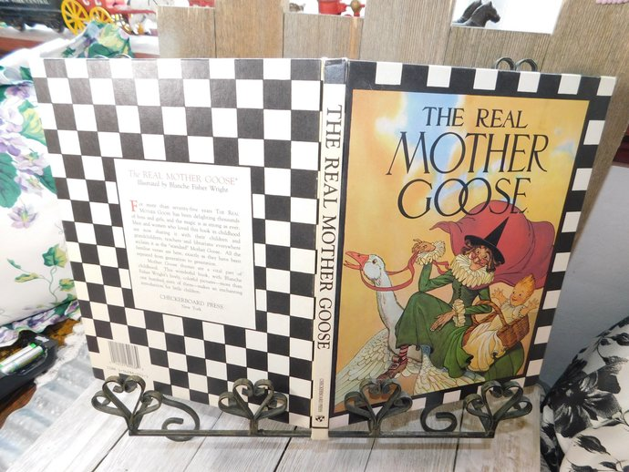 The Real Mother Goose Nursery Rhymes  Book Rand McNally and Chicago 1992,