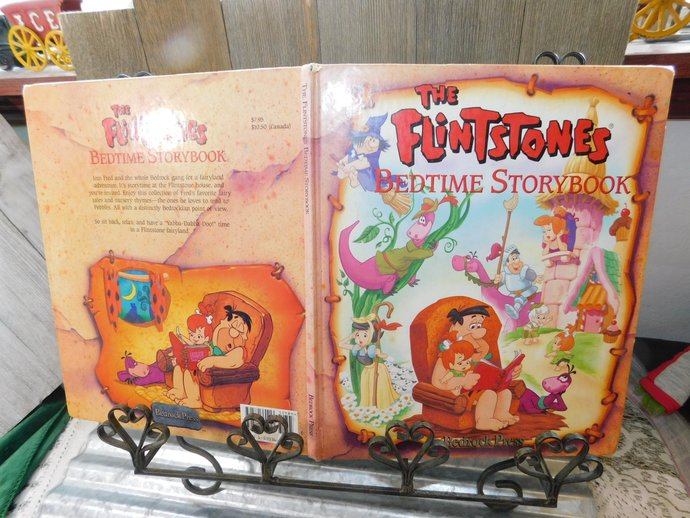 The Flintstones Bedtime Story Book 1994, children's Bedtime Story Book,