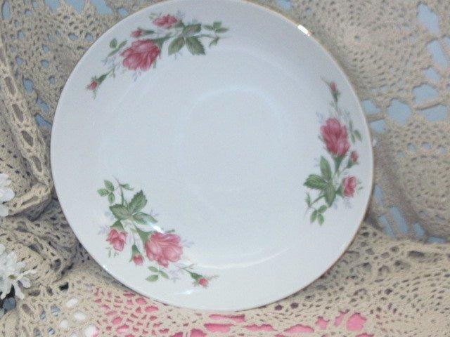 Serving China Bowl, Rose Serving bowl made in China, Rose China Bowl, Vintage
