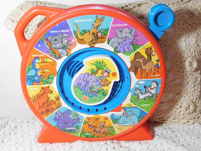 Mattel See n Say Toy Lil Zoo Pals, Vintage Mattel Toys, Toys, Vintage Toys,