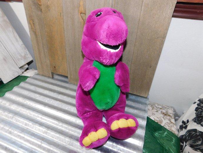 Sweet Vintage Barney Toy, Barney, Lyons Group, Vintage Stuffed Toys, Toys,