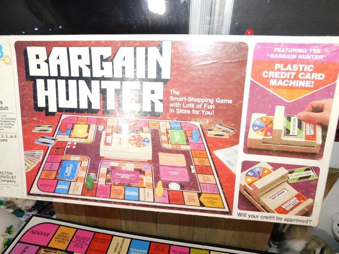 Bargain Hunters Board Game 1981, Vintage board Games, Board Games, Family Game