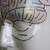 Phrenology Head porcelain medical study bust rarity cabinet of curiosities