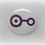 Crest of Knowledge - Anime - Pinback Button Magnet Keychain Flatback Badge Reel