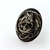 Dragon skull gothic cameo ring, spooky horror costume jewellery
