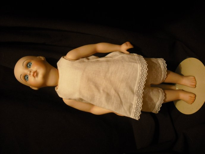 without hair all bisque doll