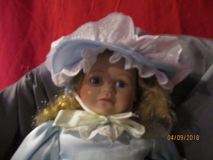 Saffir haunted Scottish baby doll Life is precious