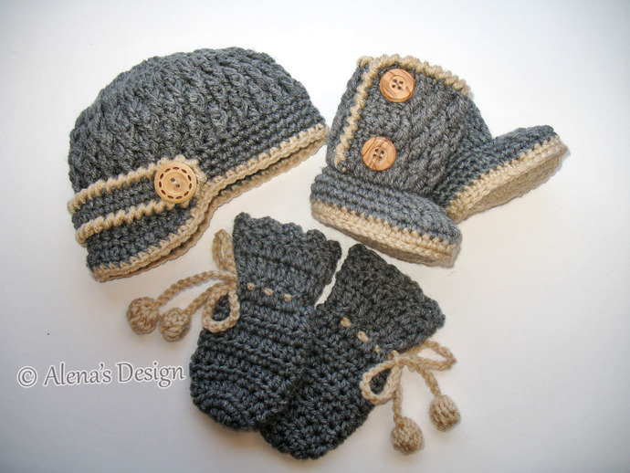 Crochet Pattern Set Crochet Patterns By Alenasdesign On Zibbet