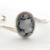 Rose cat cameo bracelet, kawaii jewelry