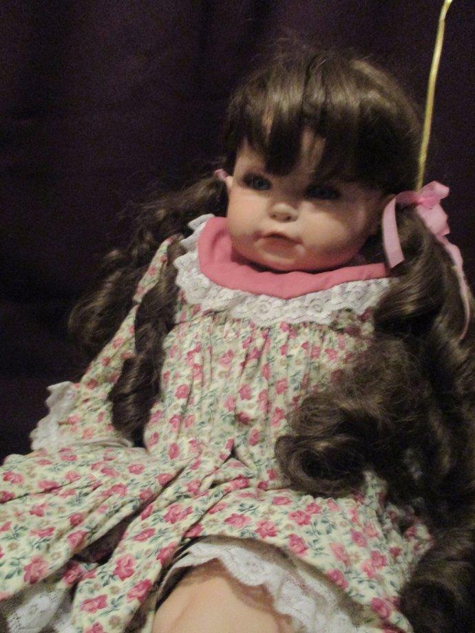 LUCKY Ally So lifelike chubby toddler babydoll Ally