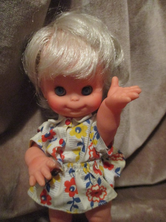 Curious character baby retro doll Lilu
