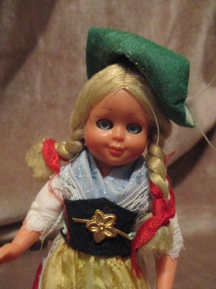 Germany blonde girl doll