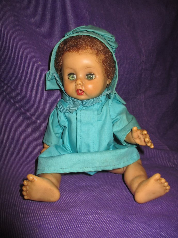 Baby Ruth mid-century vinyl doll