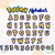 Pokemon alphabet Svg cutfiles, Pokemon Cutfiles, Pokemon letters, pokemon font