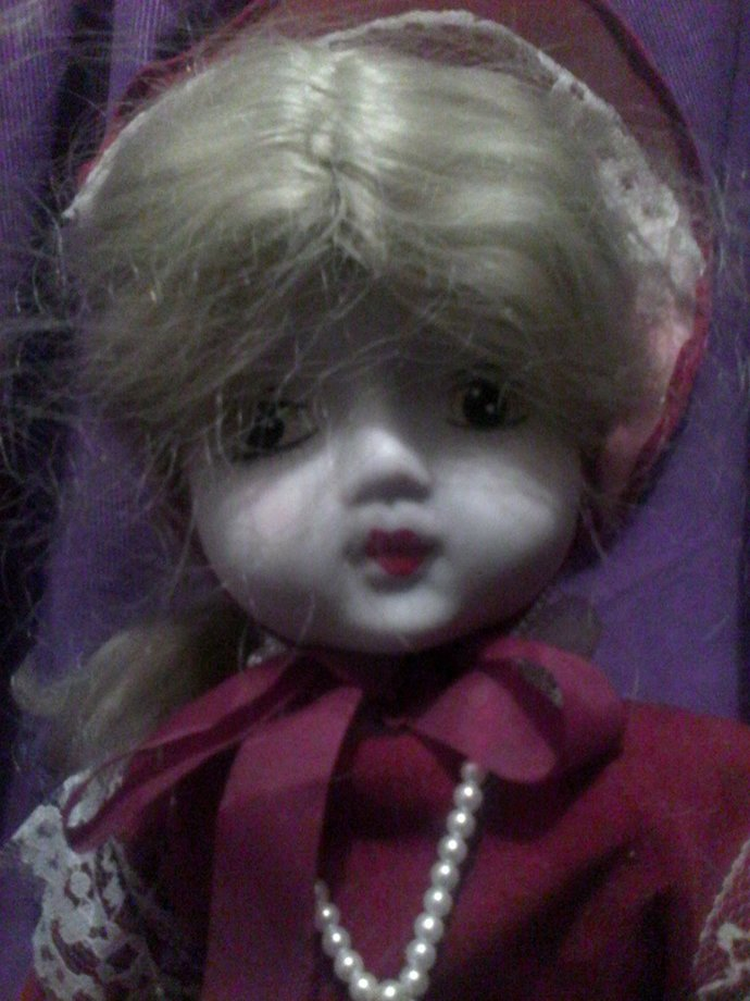 Quiet type high quality an Albert E. Price type doll haunted Stylez