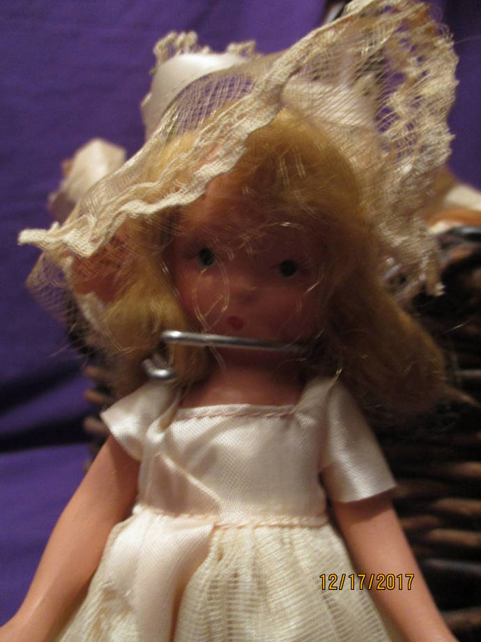 Abri storybook doll miniature doll one of the seven sisters dolls