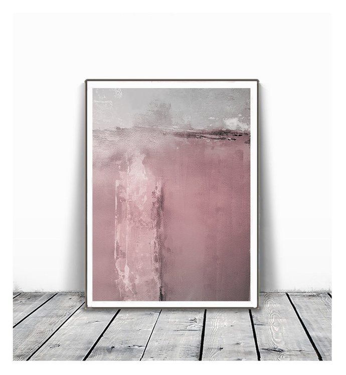 Blush Pink Painting, Abstract Watercolor Print, Printable Art, INSTANT DOWNLOAD,