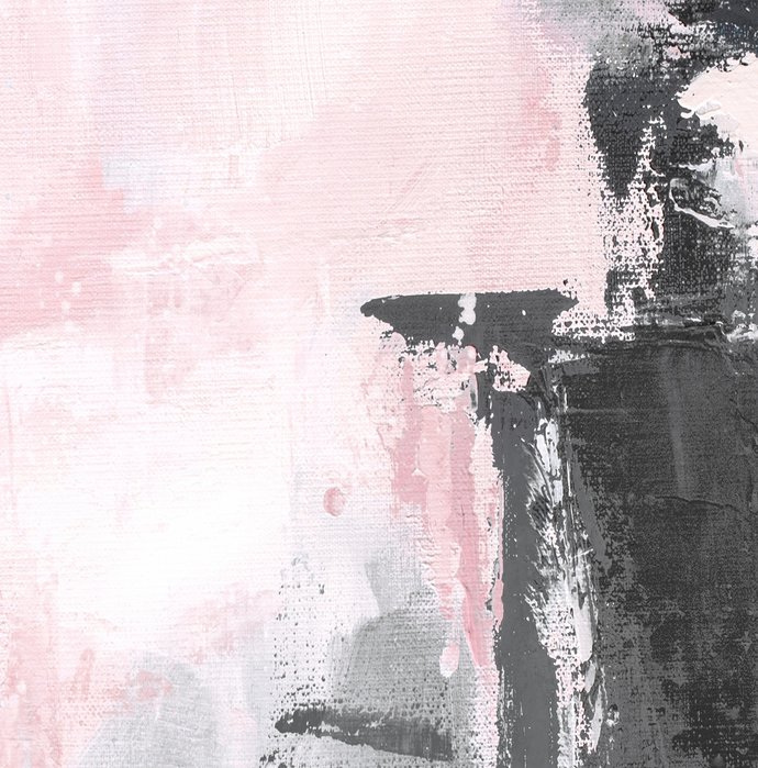 Abstract digital , pink and grey painting, digital download print, abstract