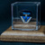 Commemorative guitar pick and display case: EAGLES