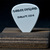 Authentic guitar pick and display case: Adrian Smith / Iron Maiden