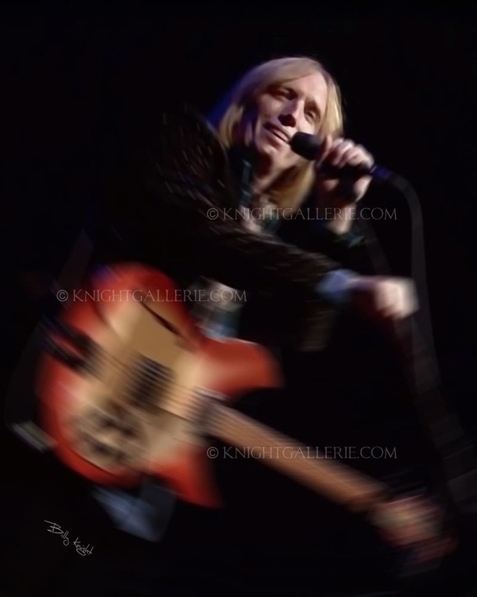 Mixed Media Image: Tom Petty