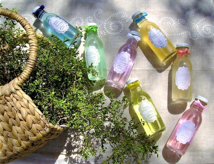 Natural Flower Water - Glass Bottle