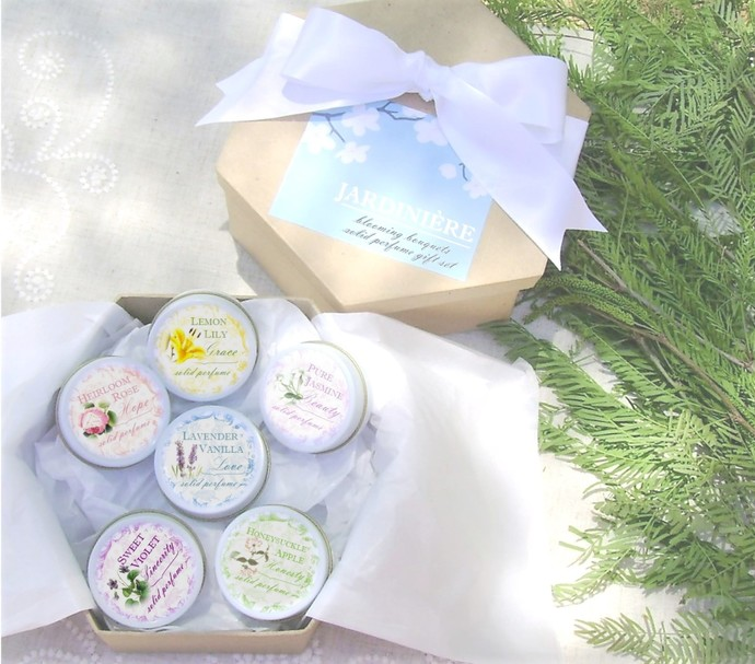 Blooming Bouquet Solid Perfume Gift Set