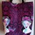 Zombie Ladies Handmade Tote Purse Bag - Tula Pink