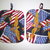 Show your Pride with this beautiful Flags & Eagles patriotic 2-Piece POTHOLDER