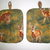 Antlered deer and their young in a meadow look great on this 2-Piece POTHOLDER