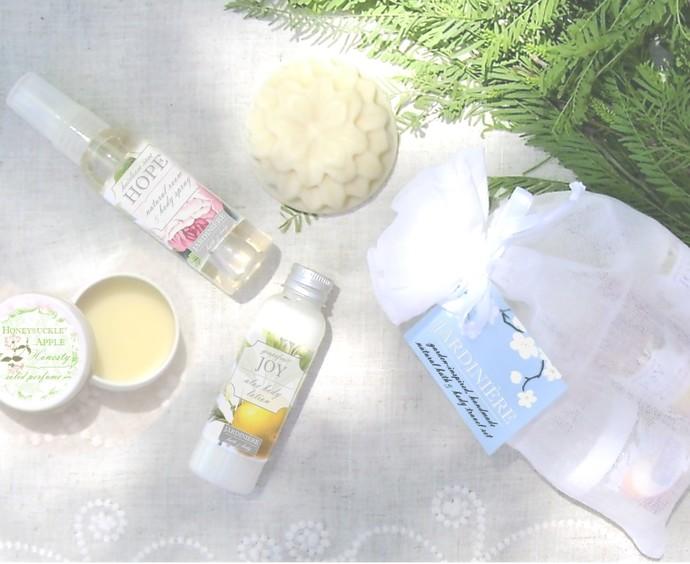 Natural Bath & Body Sampler Set