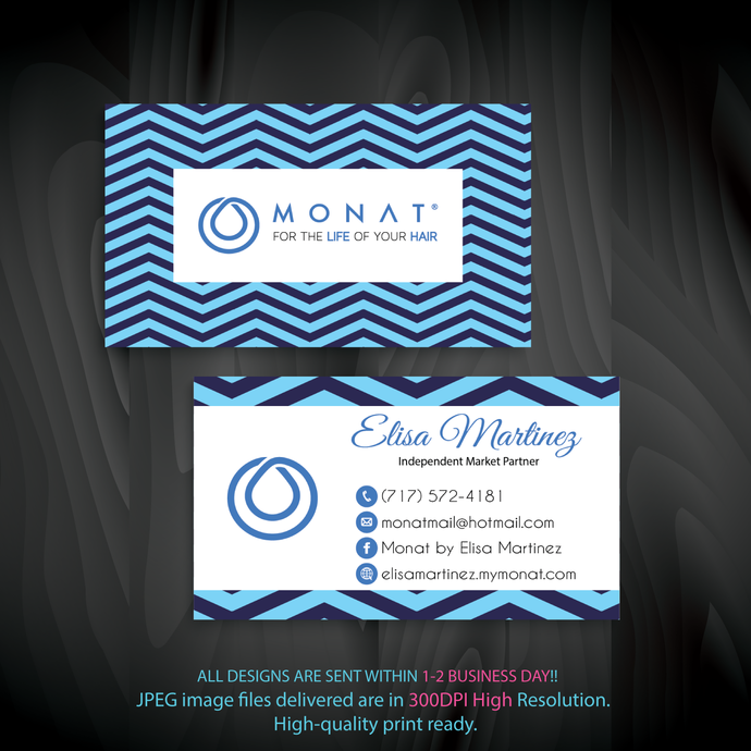 Custom Business Cards, Monat Business Cards, Personalized Monat Business Cards,