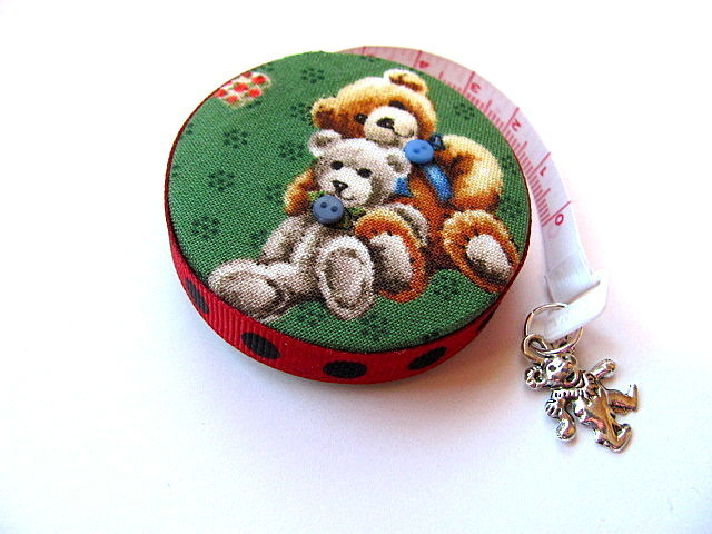 Tape Measure Teddy Bears Retractable Measuring Tape