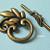 10 sets Tibetan Antique Bronze Finish Leaf Toggle