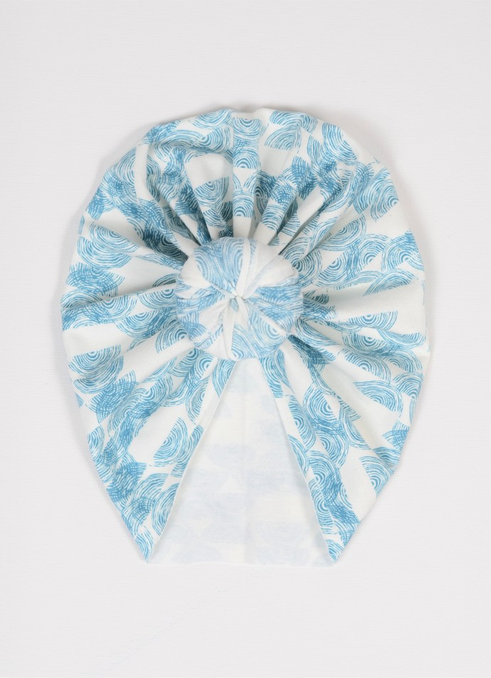 Top Knot Turban - 0-3 Months - Stamped Vectors
