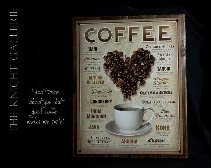 Wall Decor; LOVE COFFEE!